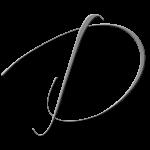 D Monogram Silver
