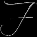 F Monogram Silver