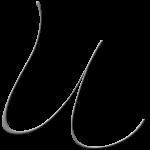 U Monogram Silver