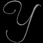 Y Monogram Silver